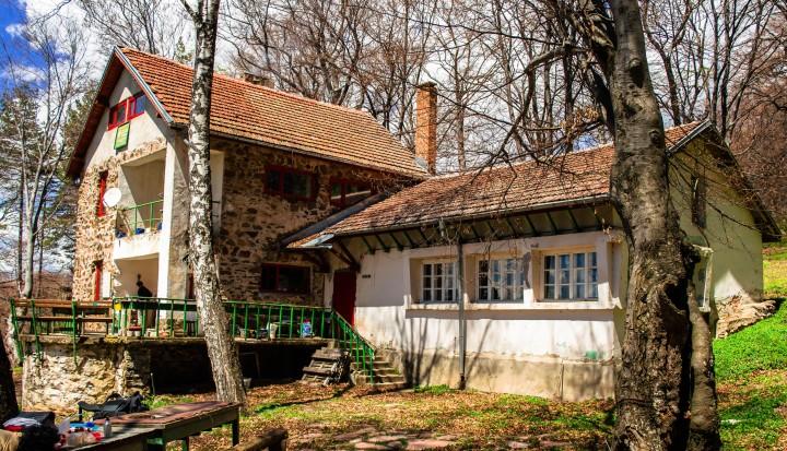 World travel, beautiful cottage