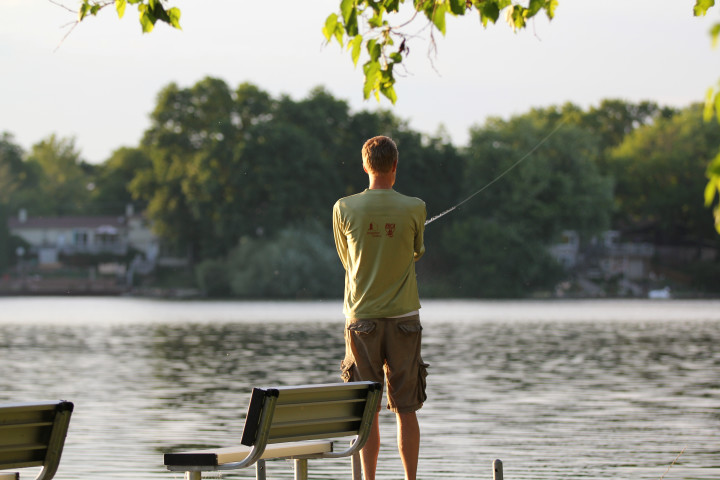 fishing, happy place, outdoors, fresh air