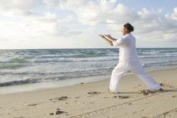 Meditation, beach, ocean, waves, peaceful, tranquility, mindfulness
