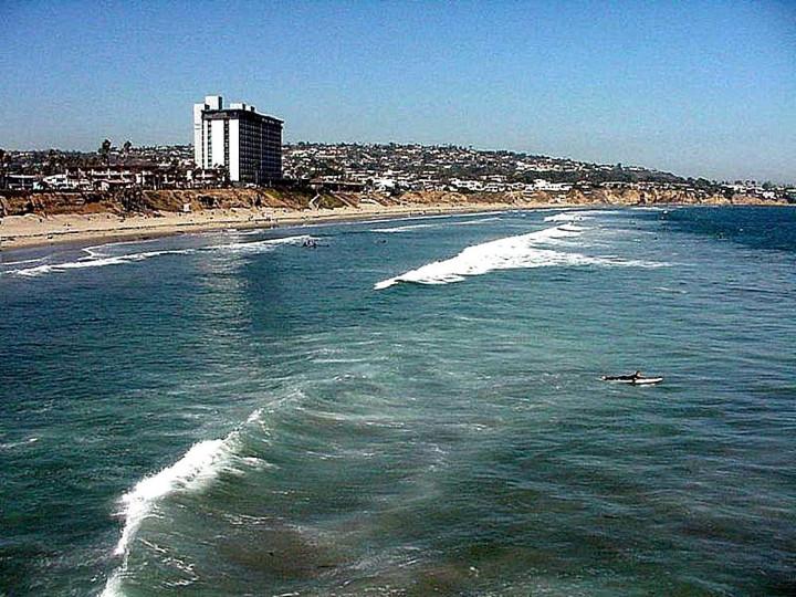 beautiful ocean, waves, beach