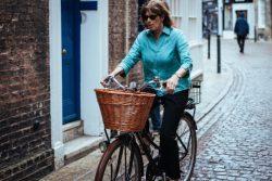World travel, exercise, bike ride