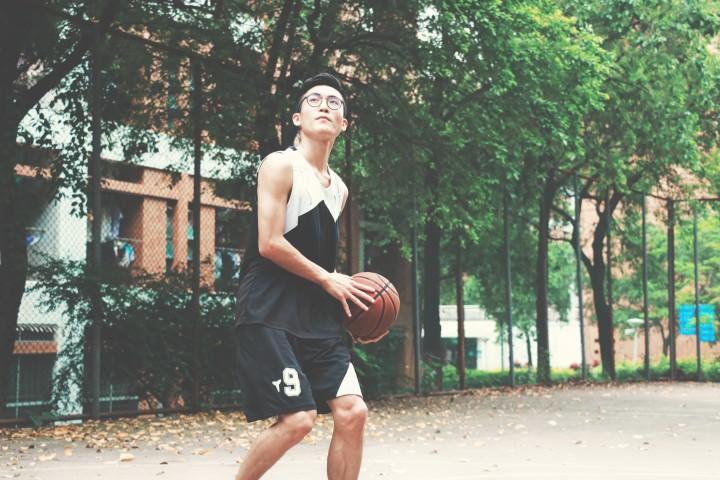 basketball, outside exercise