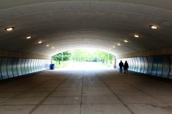 tunnel, vision, walkway