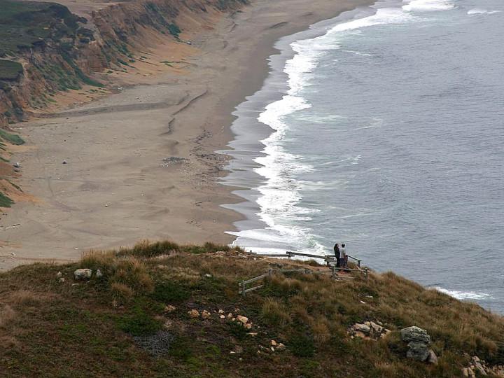 Beautiful, beach, view, ocean, waves, fresh breeze