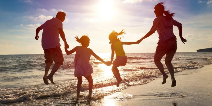 Family time, beach, memories
