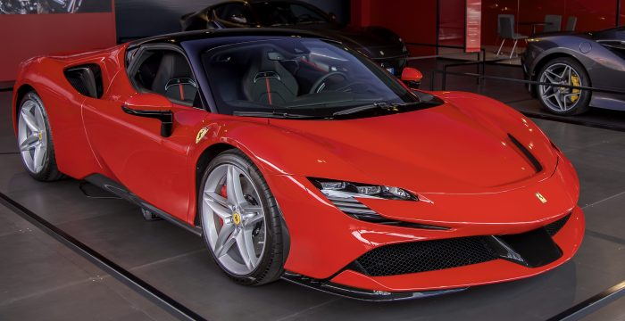 2020 Ferrari! Add it to the list
