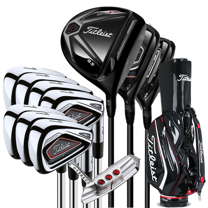 Titleist clubs! Add it to the list!