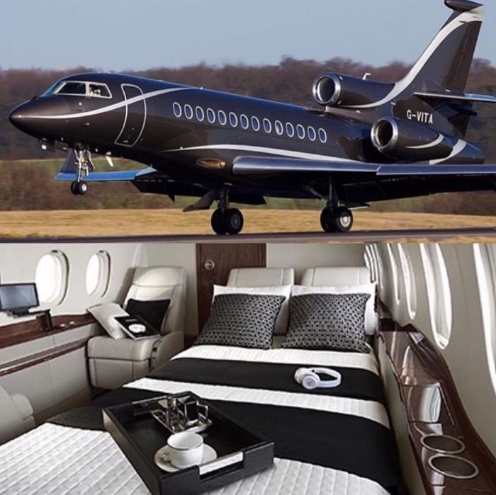 Luxury jets