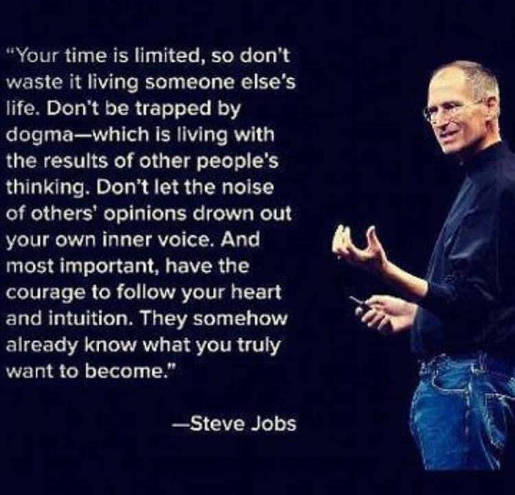 Motivational quotes. Steve Jobs
