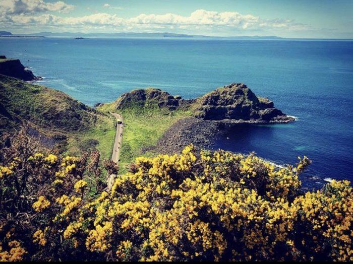 Giants Causeway, Ireland, vacation, ocean, beauty