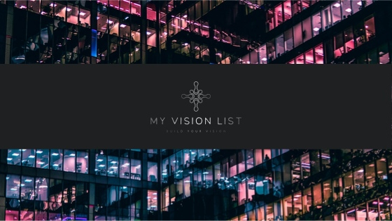 My Vision list