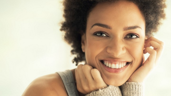 Happy, healthy, healthy skin, beautiful skin