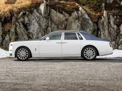 classy, white, car, transportation