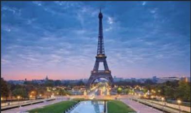 Paris, France, romantic getaway