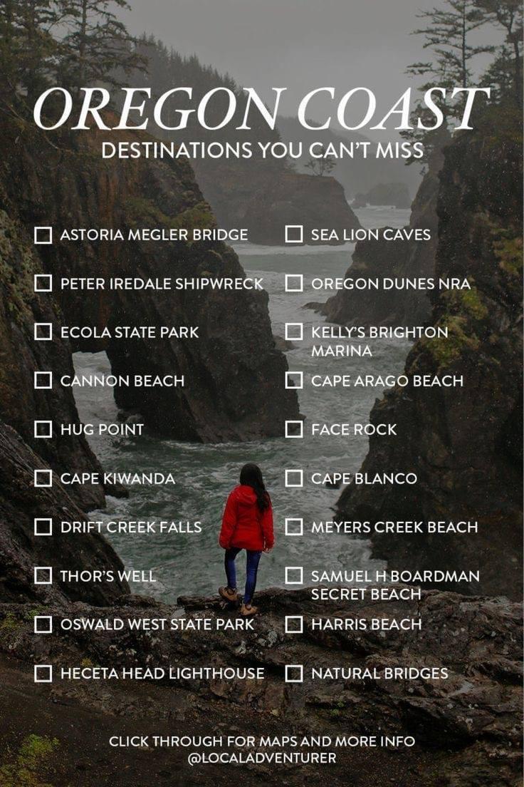 Oregon, coast, vacation