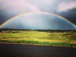 Rainbow, Castle Rock, Colorado, colorful