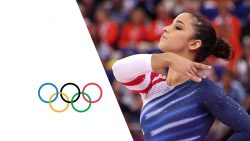 Attend the Olympics, on my vision list, gymnastics