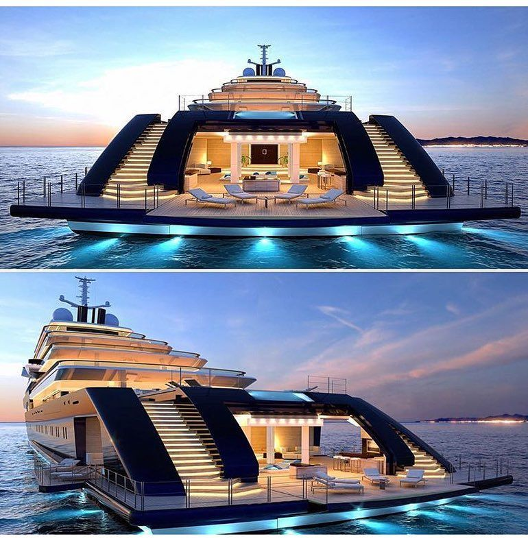 Mega Yachts! Add it to the list!