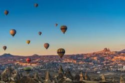 On my vision list, ride in a hot air balloon