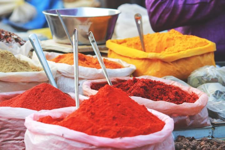 Spices turmeric