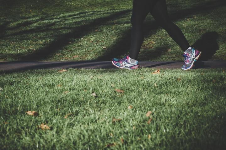 Running, exercise outside, fresh air