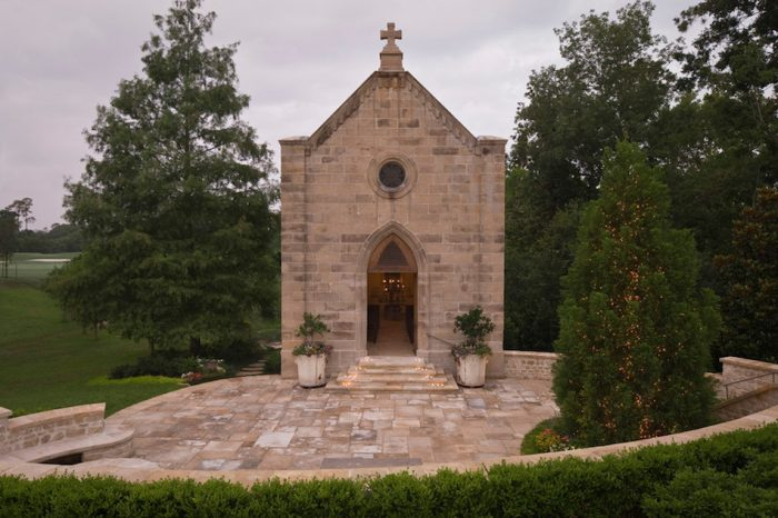 My Texas mansion with 200 year old chapel
