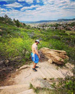 Hiking, Castle Rock, Colorado, beautiful