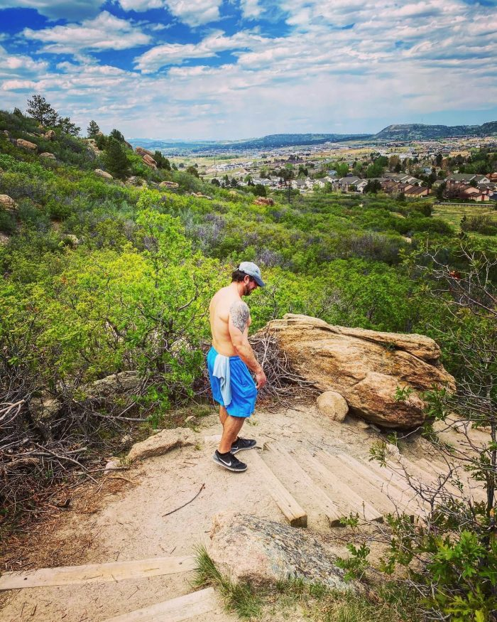 Hiking, Castle Rock, Colorado, beautiful