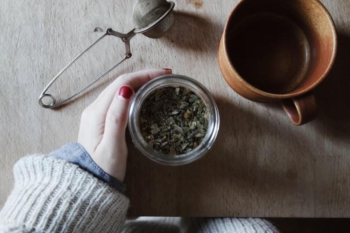 Fresh tea, world travel