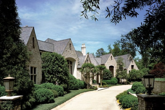 Biltmore style mansion