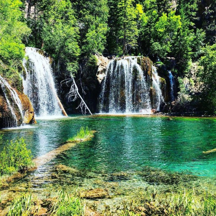 Hanging Lake, Colorado, waterfalls, breathtaking