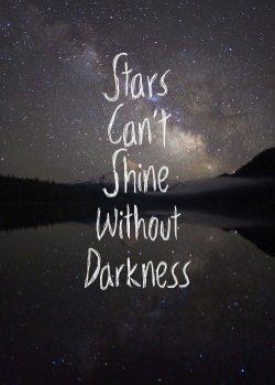 It's always darkest before the dawn