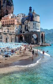 Italy! One of my favorite places!! Ocean, vacation