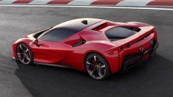 Ferrari SF90 Stradale Hybrid Is a 986-HP Technological Tour de Force