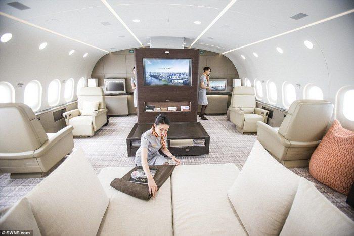 Dreamliner Private Jet!