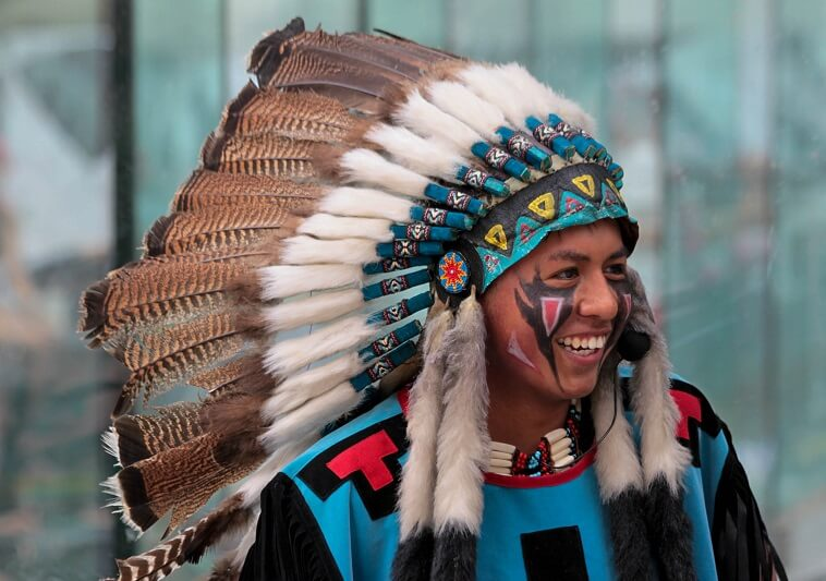 Indian chief, headdress