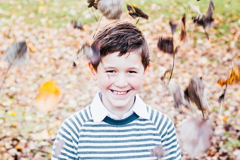 happy, smiling child