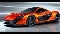 orange, fast, car