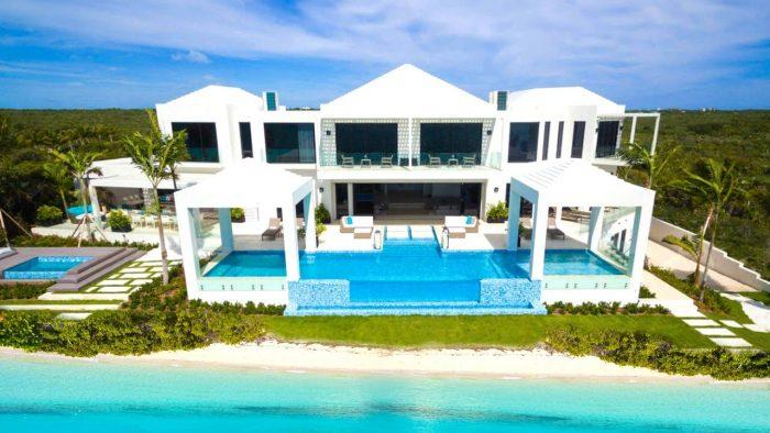 Ocean front beach house, pool