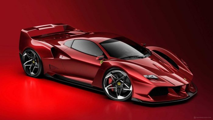 Ferrari F40-inspired One-off Supercar