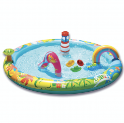 Baby pool, summer, swimming